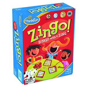Zingo Bingo Preschool Game for Early Readers Age 4+