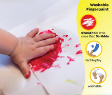 Load image into Gallery viewer, Crayola My First Finger Paint for Toddlers, Painting Paper Included, Gift