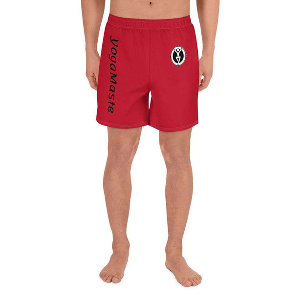 Short Yoga Homme Rouge - YogaMaste