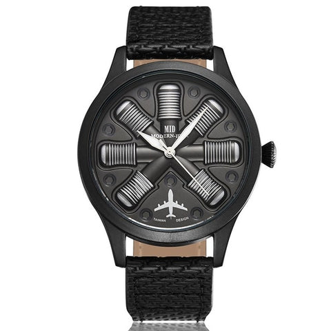 Aviator Engine Watch