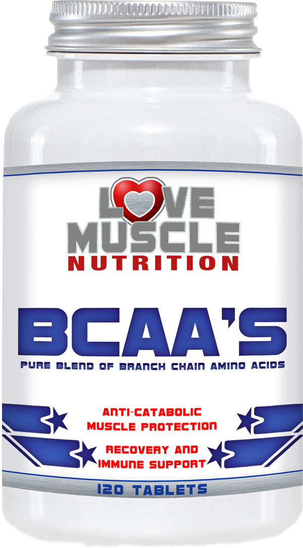 BCAA'S : 120 TABLETS