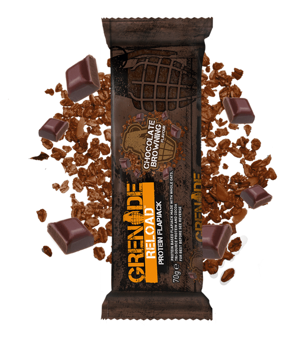 RELOAD HIGH PROTIEN FLAPJACK BAR: 12 X 70G