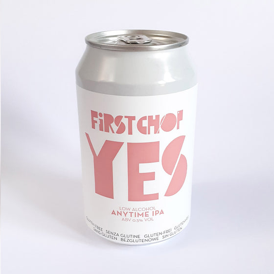 First Chop Yes Anytime IPA