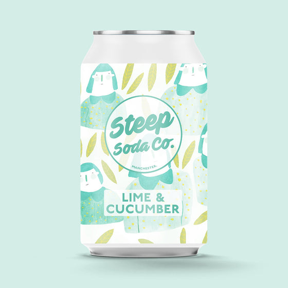 Lime and Cucumber Soda