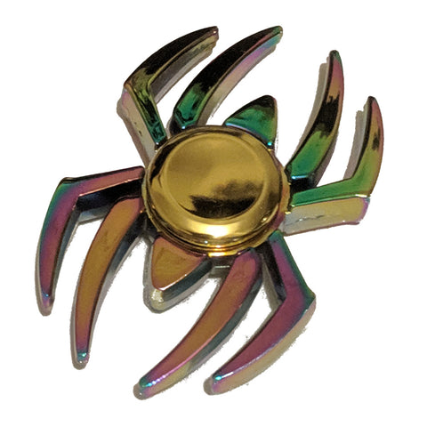 Spider oil-coloured Fidget Spinner