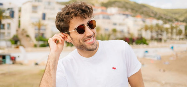 Randolph Engineering Douglas Sunglasses Lifestyle Image
