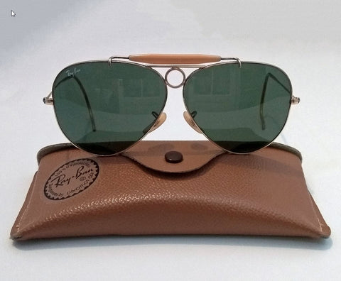 Early Ray-Ban sunglasses with the iconic tear drop shape