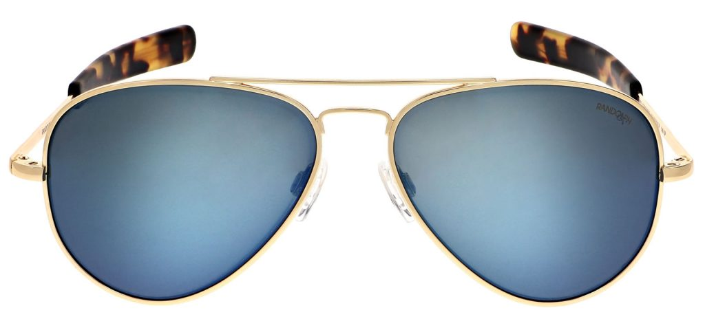 Randolph Cobalt Concorde Polarized Blue Mirror Sunglasses