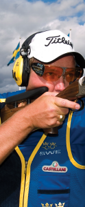 Why proper eye protection is necessary while shooting