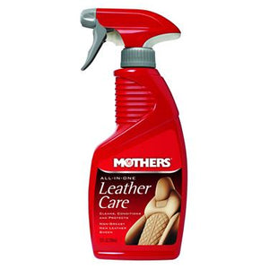 Mothers 06512 Leather Conditioner; Use To Clean/ Condition/ Protect Leather With PH Balanced Formula; 12 Ounce Spray Bottle