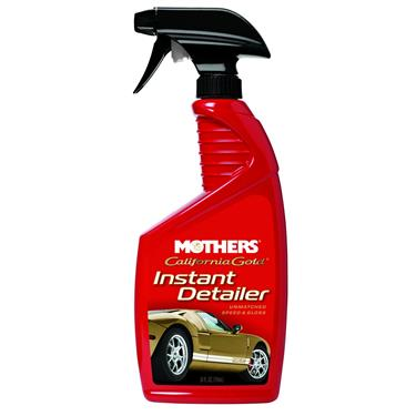 Mothers 08224 Car Wax; California Gold; Showtime Instant Detailer