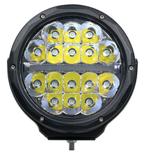"Load image into Gallery viewer, SpeedDemon 7"" Hi-Lux Round Driving Light"