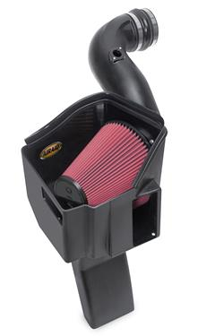 Airaid 200-219 Cold Air Intake; MXP Series; Black Plastic Tube; Red SynthaFlow Filter; With Heat Shield GM Duramax
