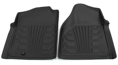 Lund International 283003-B Floor Liner; Catch-It; Molded Fit; Raised Blocks With Drip Channels; Black; Vinyl; 2 Piece