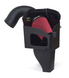 Airaid 301-259 Cold Air Intake; MXP Series; Black Plastic Tube; Red SynthaMax Filter; With Heat Shield; 5.9 L Cummins