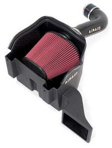 Airaid 301-277 Cold Air Intake; MXP Series; Black Polyethylene Tube; Red SynthaMax-Dry Filter; With Air Box