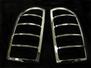 TFP (International Trim) 330D Tail Light Molding; Chrome Plated; ABS Plastic; Dodge Ram (Discontinued)
