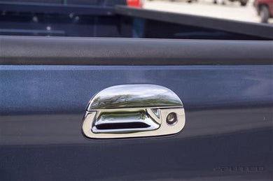 Putco 401015 Tailgate Handle Cover; Chrome Plated; ABS Plastic; With Tailgate Handle Trim; With Keyhole