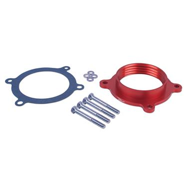 Airaid 450-603 Throttle Body Spacer; PowerAid (R); Red; Includes Gasket/ Screws/ Washers; Ford 3.5L
