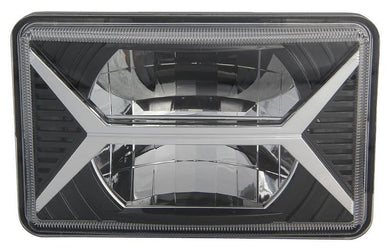 SpeedDemon 4x6 DOT/SAE Sealed Beam Replacement Headlight