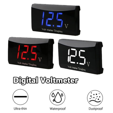 Element Proof Digital Voltmeter