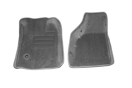 Lund International 602624 Ford Superduty Floor Liner; Catch-All; Molded Fit; Grey; Nylon; 2 Piece