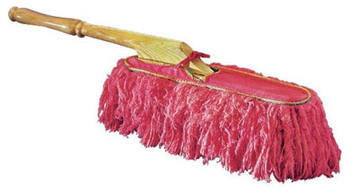 California Car Duster 62442 Car Duster; 25 Inch Length; Red; Fiber; Wood Handle