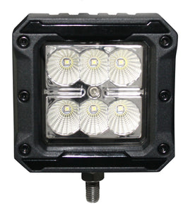 SpeedDemon 6Pack Hi-Lux Driving Light (Pair with Wiring)