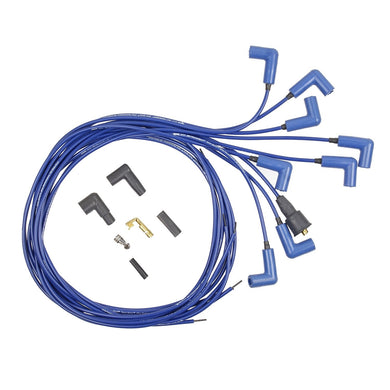 ACCEL 7541B 300 Plus Blue Ferro-Spiral Race Spark Plug Wire Set