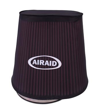 Airaid 799-472 Air Filter Wrap; Pre Filter; Cone; 10 Inch Height; Closed Top; Black; Polyester