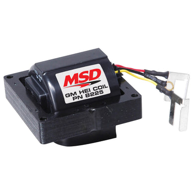 MSD IGNITION HEI COIL, FOR GM HEI DISTRIBUTORS