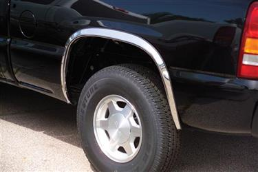 Putco 97217 Fender Trim; Full Wheel Well; Polished; Stainless Steel; 1.5 Inch Width; Superduty Dually