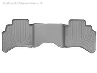 Weathertech 460042 Gray Rear Liner - Dodge Ram Quad Cab