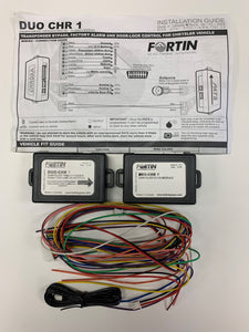 Fortin DUO-CHR-1 - CHRYSLER BYPASS & DOOR LOCK INTERFACE COMBO KIT (CHRDAA-COMBO)