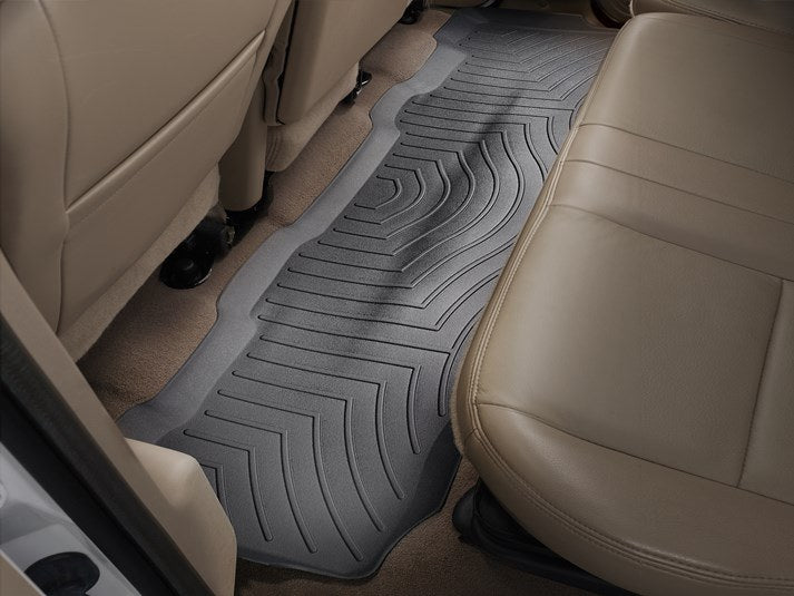 Weathertech 440122 Black Rear Liner - Ford Supercrew