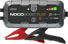 Load image into Gallery viewer, NOCO Genius GB40 Boost+ Jump Starter and Power Bank, 1000 Amp