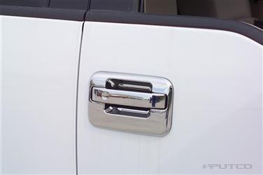 Putco 401007 Exterior Door Handle Cover; Chrome Plated