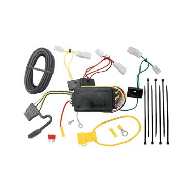 Tekonsha 118405 Trailer Wiring Connector; T-One; 4 Way Flat Replacement For OEM Wiring Harness