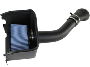 Advanced FLOW Engineering 54-10112 Cold Air Intake; Magnum Force Stage 2; Black Plastic Tube; Blue Pro 5 R Filter; With Heat Shield Dodge Trucks