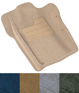 Lund International 603137 Grey FLOOR MATS; DAKOTA STD.EXT QUAD