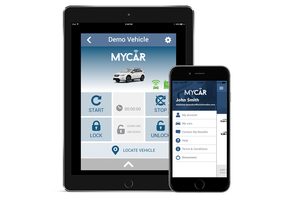 MyCar Smartphone App/Apple Watch App (Additional Equipment Required for Remote Start)