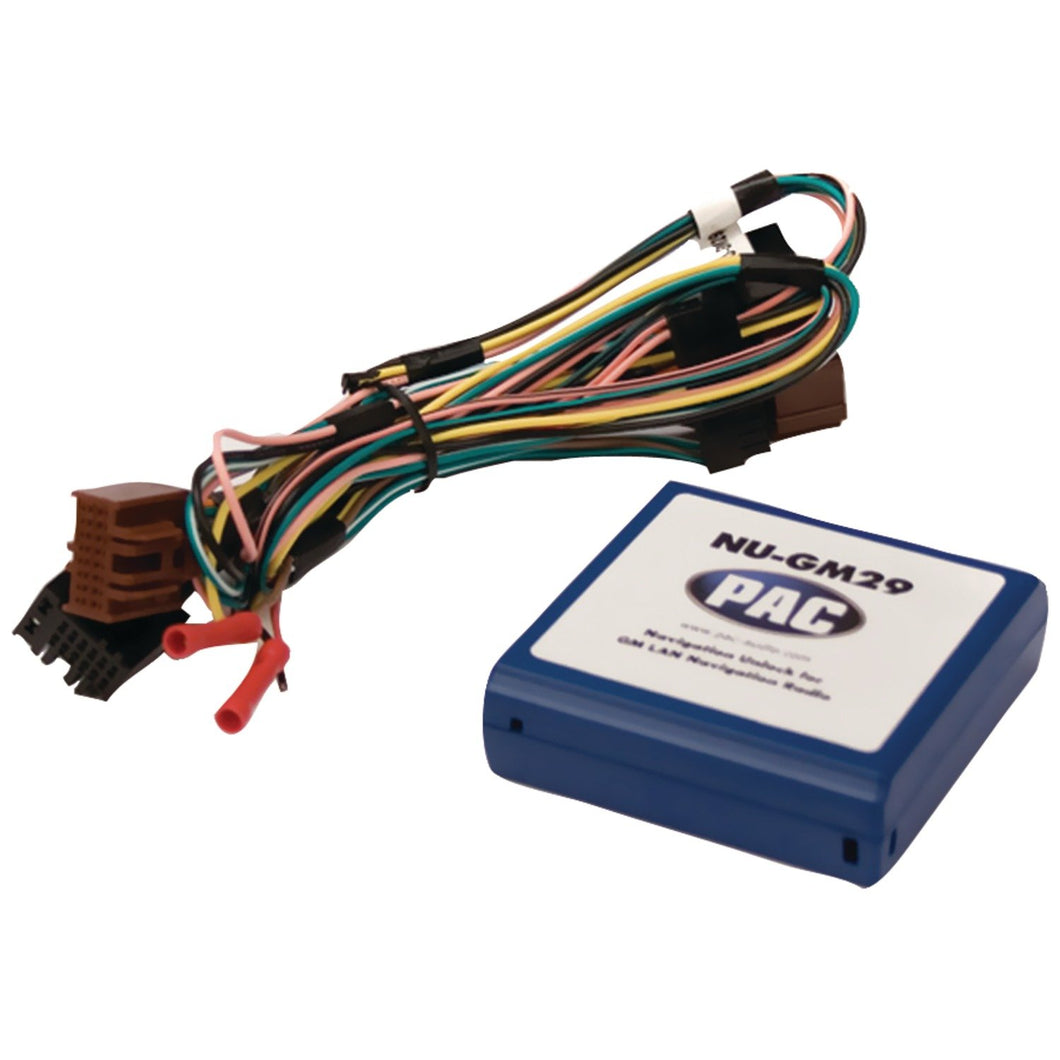 PAC NU-GM29 Navigation Unlock Interface (For GM(R) 29-Bit LAN vehicles)(Discontinued)