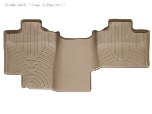 Weathertech 450053 Tan Rear Liner - Ford F150 Supercrew