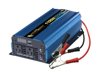 Power Bright PW1100-12 2200 PEAK WATT INVERTER - 12V DC to AC 1100 Watt power Inverter