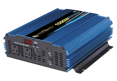 Power Bright PW1500-12 3000 PEAK WATT INVERTER - 12V DC to AC 1500 Watt power Inverter