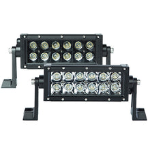 "Load image into Gallery viewer, SpeedDemon 6"" Dual Row Light Bar - DRC6 (Silver & Black Ops)"
