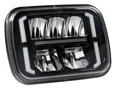 SpeedDemon 5x7 DOT/SAE Sealed Beam Replacement Headlight - Combination Beam