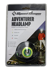 SpeedDemon The Adventurer - Headlamp