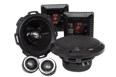 Rockford Fosgate T2652-S T2 Power 6.5-Inch Component Speaker System
