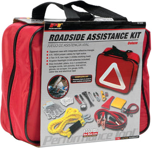 Performance Tool W1555 Deluxe Roadside Emergency Assistance Kit with Jumper Cables